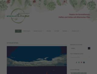 blog.aromapraxis.de screenshot