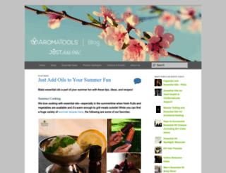 blog.aromatools.com screenshot