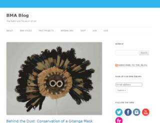 blog.artbma.org screenshot