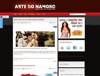 blog.artedonamoro.com screenshot