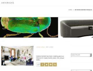blog.arteriorshome.com screenshot