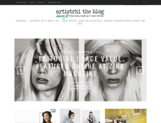 blog.artistrhi.com screenshot