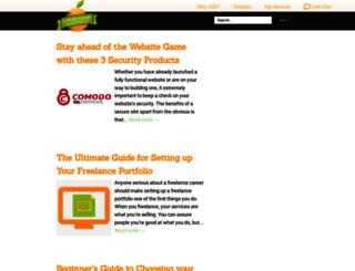 blog.asmallorange.com screenshot
