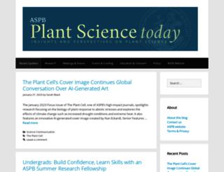 blog.aspb.org screenshot