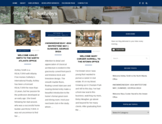 blog.atlantafinehomes.com screenshot