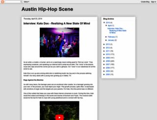 blog.austinhiphopscene.com screenshot