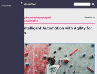 blog.automic.com screenshot