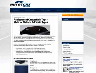 blog.autotopsdirect.com screenshot