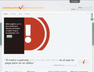blog.axbusiness.com screenshot