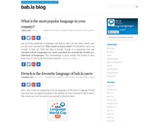 blog.bab.la screenshot