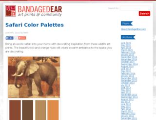 blog.bandagedear.com screenshot