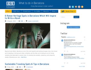 blog.barcelonaguidebureau.com screenshot