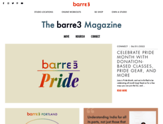 blog.barre3.com screenshot