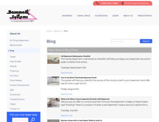 blog.basementsystems.com screenshot