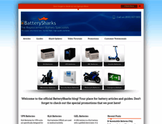 blog.batterysharks.com screenshot
