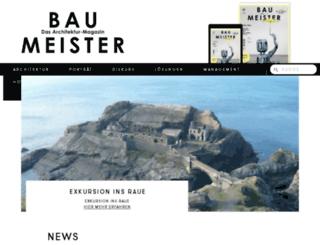 blog.baumeister.de screenshot