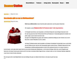 blog.beamerstation.de screenshot