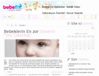 blog.bebefix.com screenshot