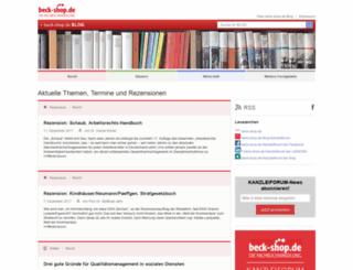 blog.beck-shop.de screenshot