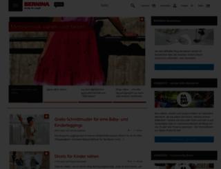 blog.bernina.com screenshot