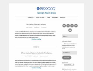 blog.berroco.com screenshot