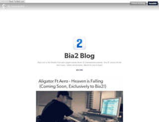 blog.bia2.com screenshot