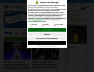 blog.bildungsdoc.de screenshot