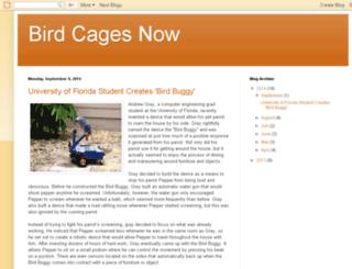 blog.birdcagesnow.com screenshot
