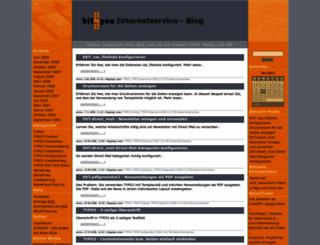 blog.bit-4-you.de screenshot