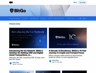 blog.bitgo.com screenshot