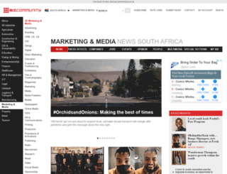 blog.bizcommunity.com screenshot