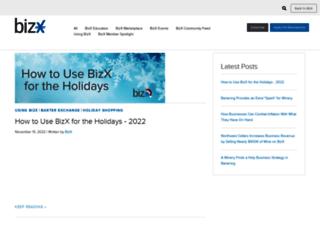 blog.bizx.com screenshot