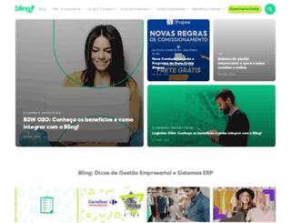 blog.bling.com.br screenshot