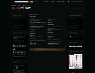 blog.blogsthatfollow.com screenshot