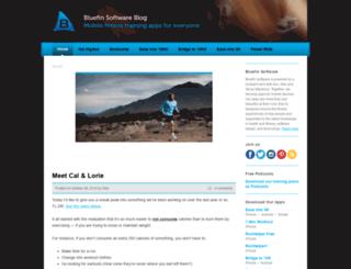 blog.bluefinapps.com screenshot