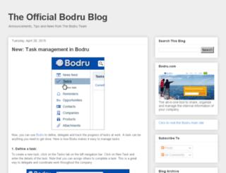 blog.bodru.com screenshot