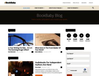 blog.bookbaby.com screenshot