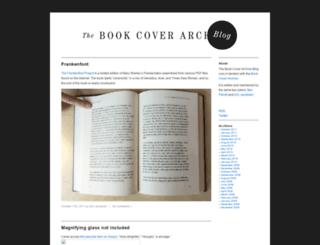 blog.bookcoverarchive.com screenshot
