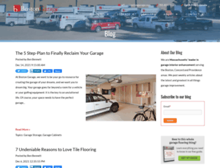 blog.bostongarage.com screenshot