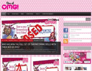 blog.boxofomg.tv screenshot