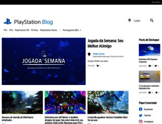 blog.br.playstation.com screenshot