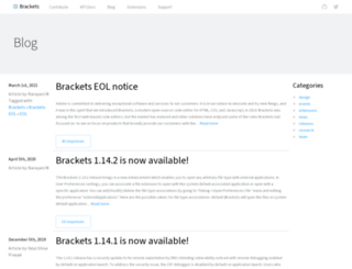 blog.brackets.io screenshot