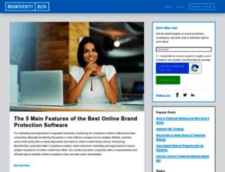 blog.brandverity.com screenshot
