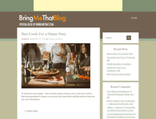 blog.bringmethat.com screenshot