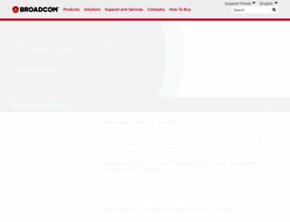 blog.broadcom.com screenshot