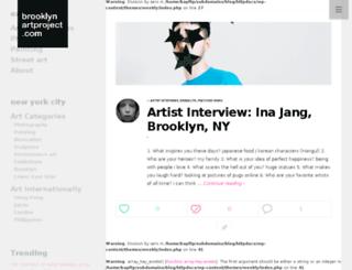 blog.brooklynartproject.com screenshot