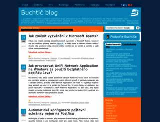blog.buchtic.net screenshot