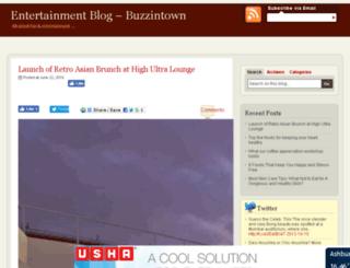 blog.buzzintown.com screenshot