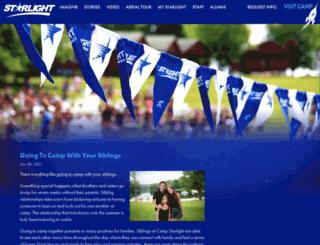 blog.campstarlight.com screenshot