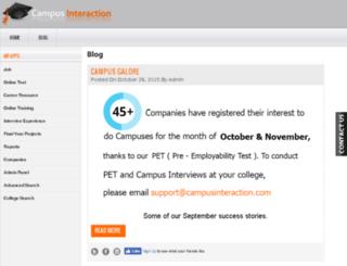 blog.campusinteraction.com screenshot